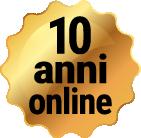 coccarda 10 anni online