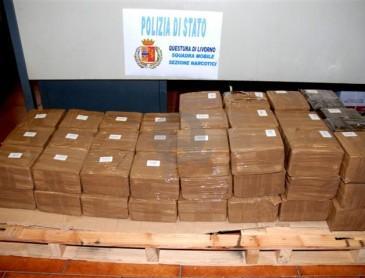 Traffico internazionale:  8 arresti per droga