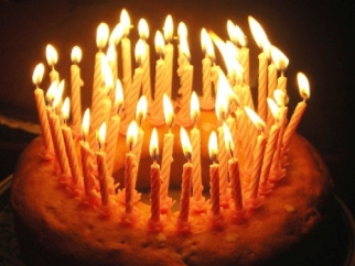 torta candele