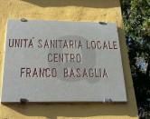 L'INGRESSO DEL CENTRO BASAGLIA