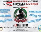 """Cinema """"a 5 Stelle"""" ai 4 Mori con Sabina Guzzanti"""