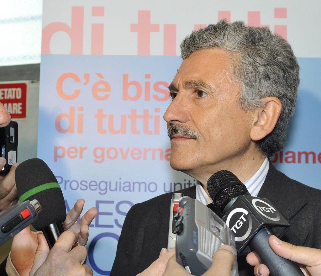 GAZZETTI INTERVISTA D'ALEMA IN UN INCONTRO AL CIRCO PD DI VIA DI SALVIANO