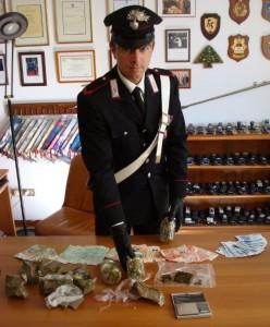 spaccio carabinieri