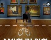 Pedalando in bicicletta alla scoperta dell'arte