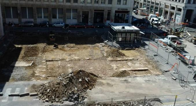 """Resti storici sotto la piazza del Municipio. """"Ecco Palazzo Granducale, valorizziamolo"""""""