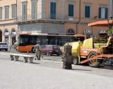 P.zza Repubblica,  lavori e traffico in tilt