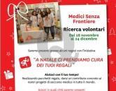 Medici senza frontiere, cerca volontari natalizi
