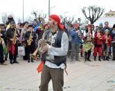 """""""Carnevale in Terrazza"""", maschere in sfilata"""
