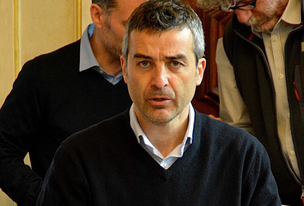 L'ASSESSORE ALL'URBANISTICA ALESSANDRO AURIGI