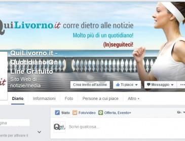 Quilivorno.it, numeri record.  Fb: 32mila iscritti fra 10 fan.  Buona notizia? Scriveteci