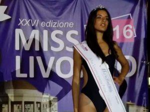 LA VINCITRICE DELLA SECONDA TAPPA DI MISS LIVORNO