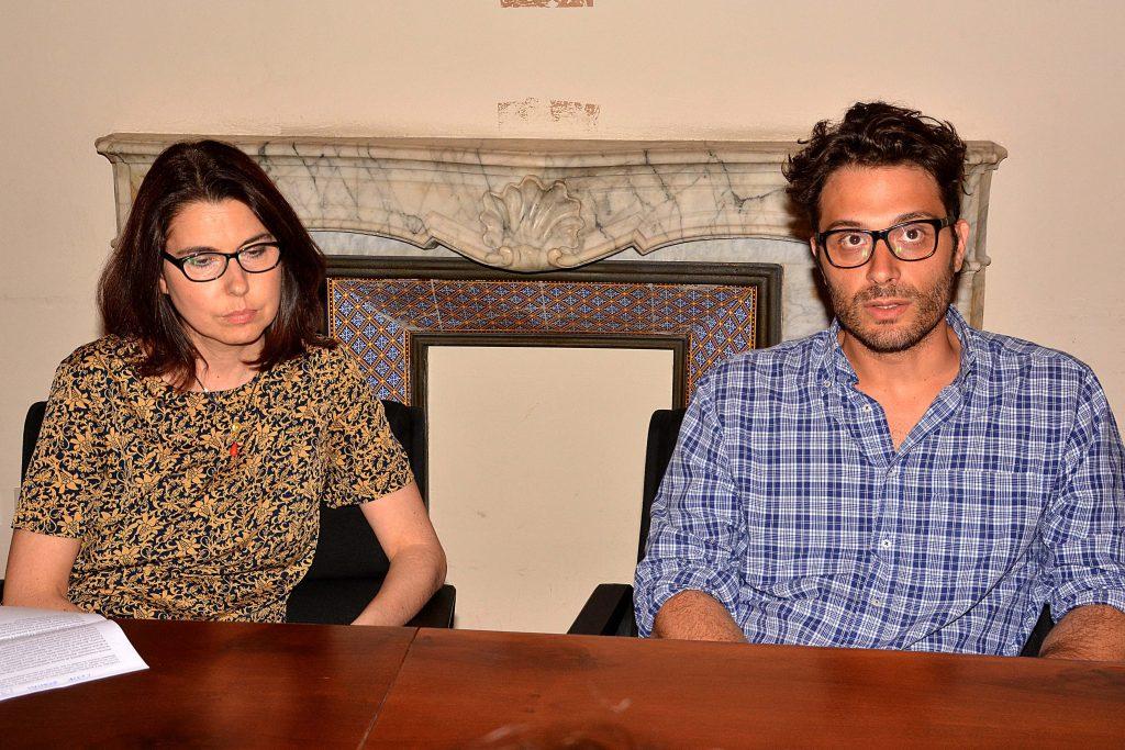 Giovanna Cepparello e Andrea Raspanti
