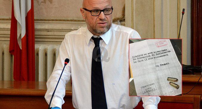 Lettera con proiettili al sindaco Nogarin. Bellabarba prende le distanze