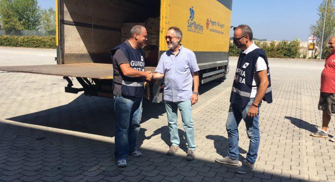 Donati 7.500 kg di pesce alla Caritas