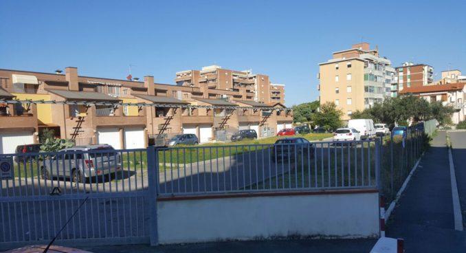 Nuovo parcheggio in via del Fagiano