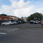 Il parcheggio di via dell'Ardenza  foto Simone Lanari