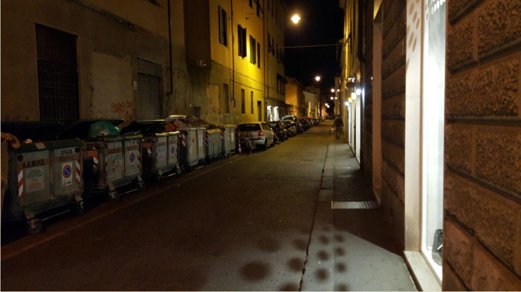 Dipingere Strisce Parcheggio : Università il parcheggio torna gratis imbiancate le strisce blu
