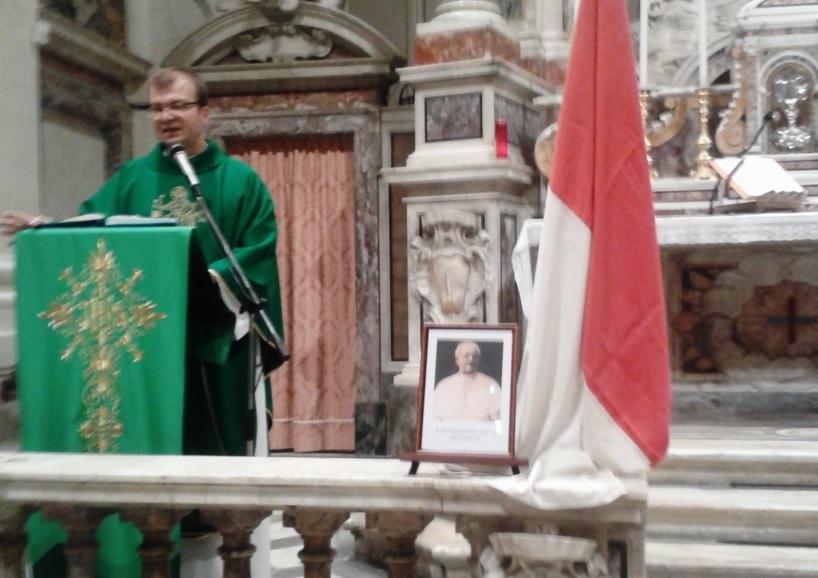 Emilio Kolaczyk parroco della chiesa di S. Ferdinando