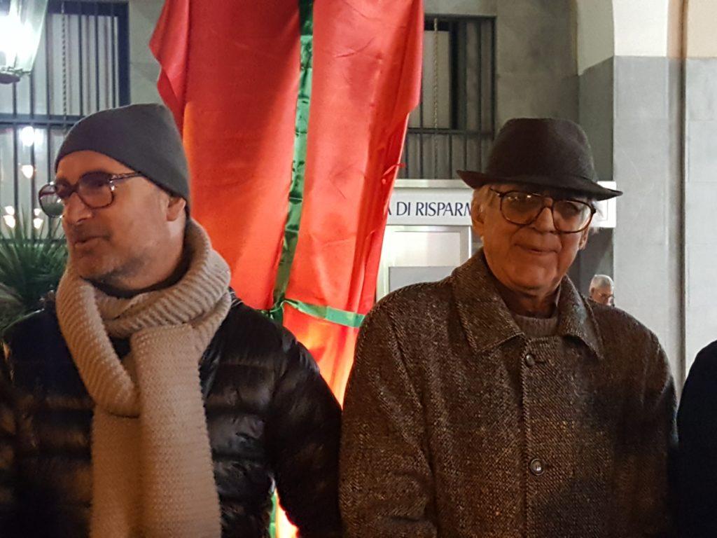 L'ASSESSORE BELAIS E L'ARTISTA RENATO SPAGNOLI