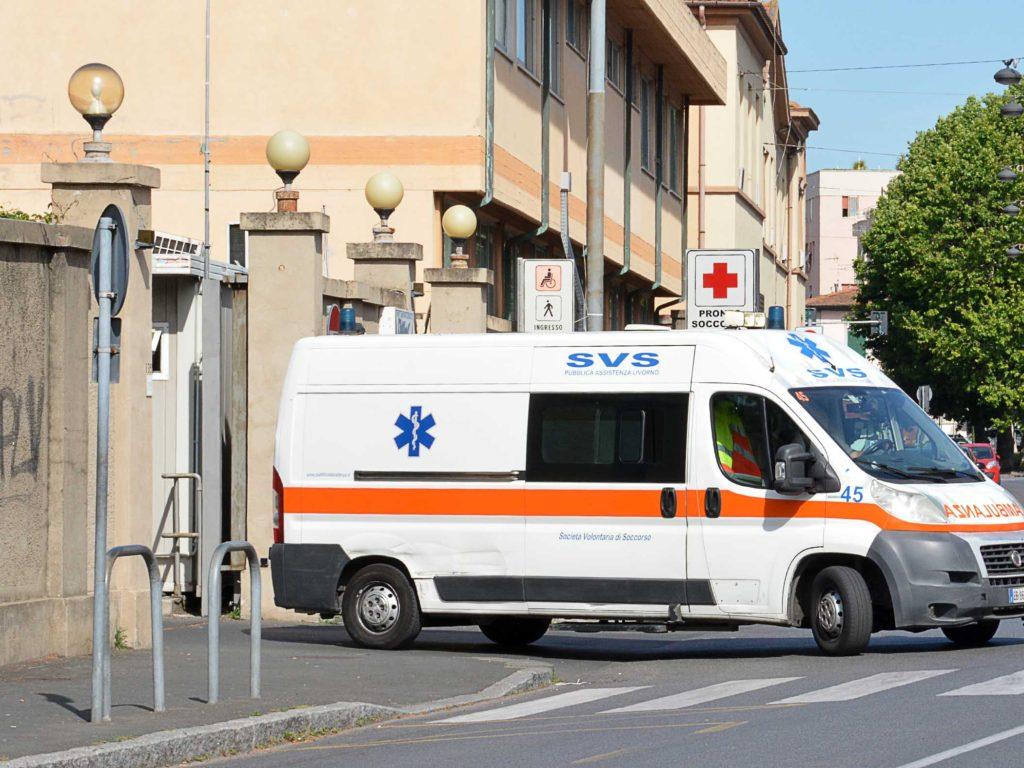 ospedale pronto soccorso svs ambulanza Foto Simone Lanari