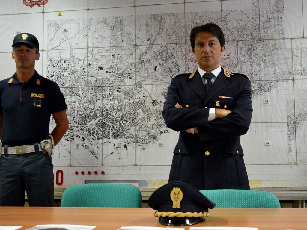 Salvatore Blasco, dirigente Squadra Mobile di Livorno