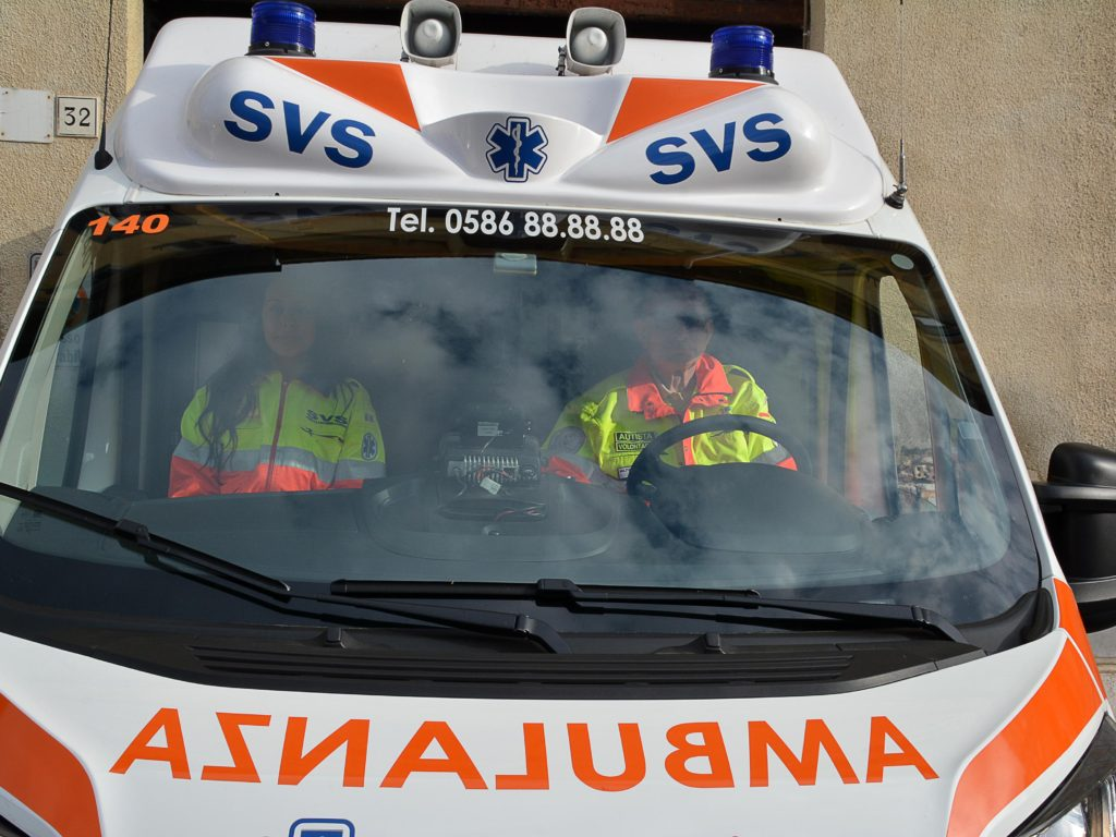 ambulanza svs Foto Simone Lanari