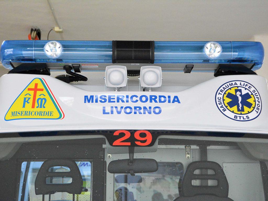 misericordia livorno ambulanza Foto Simone Lanari