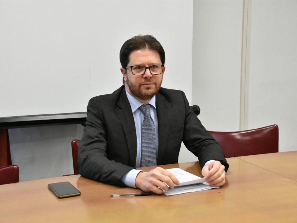 IL PRESIDENTE DELLA PROVINCIA ALESSANDRO FRANCHI. (FOTO SIMONE LANARI)