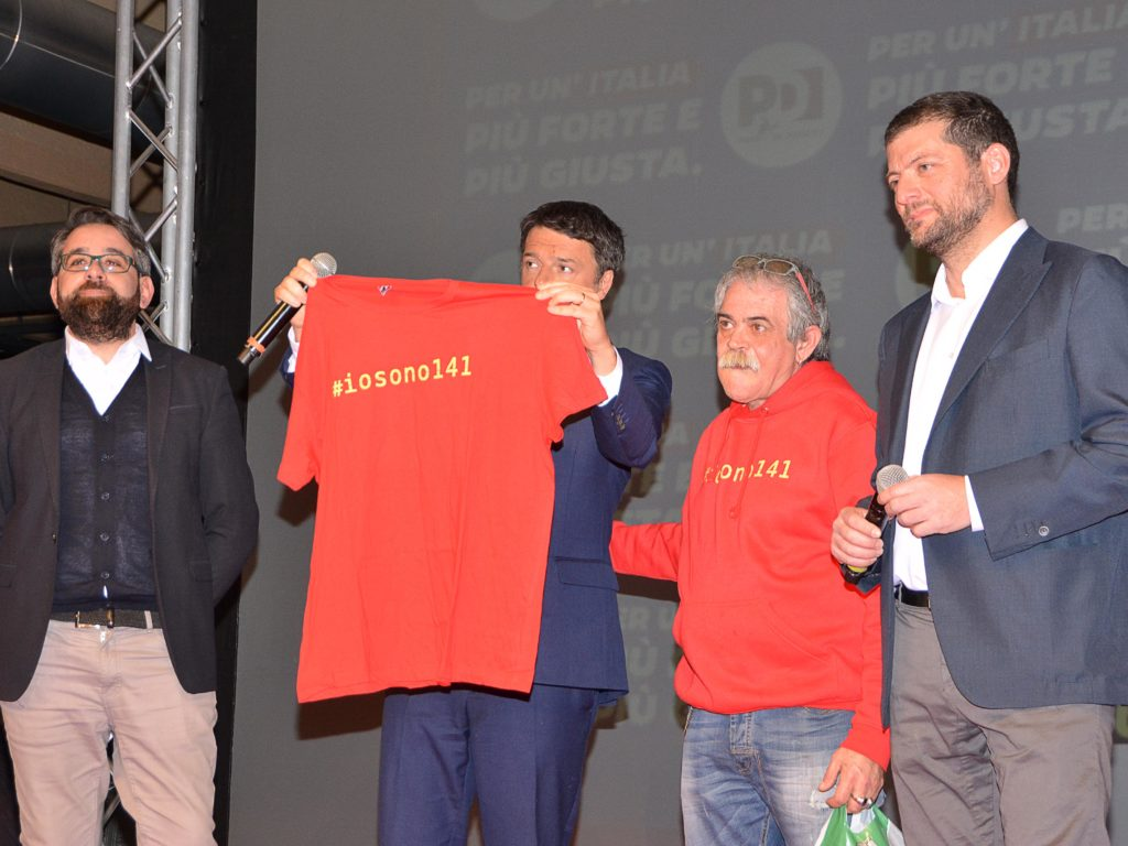 Matteo Renzi al Terminal Crociere foto Simone Lanari