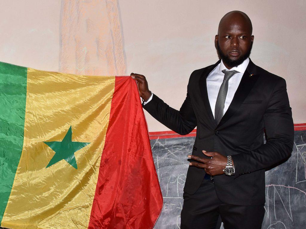 Serigne Modou Ngome, nuovo rappresentante della comunità senegalese (foto Simone Lanari)