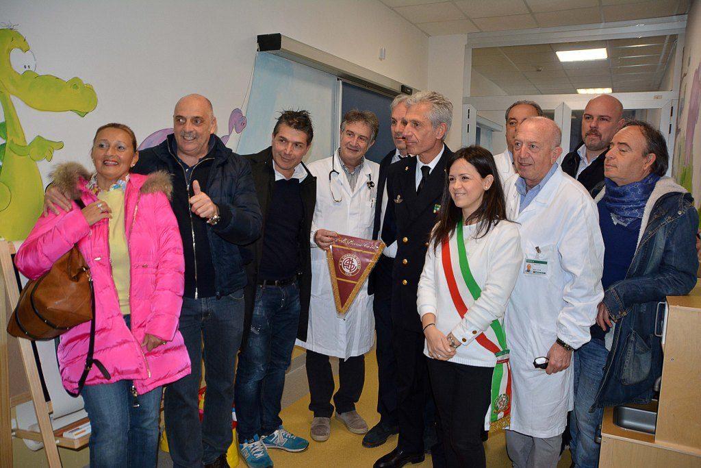 Inaugurazione sala attesa pediatrica foto Simone Lanari