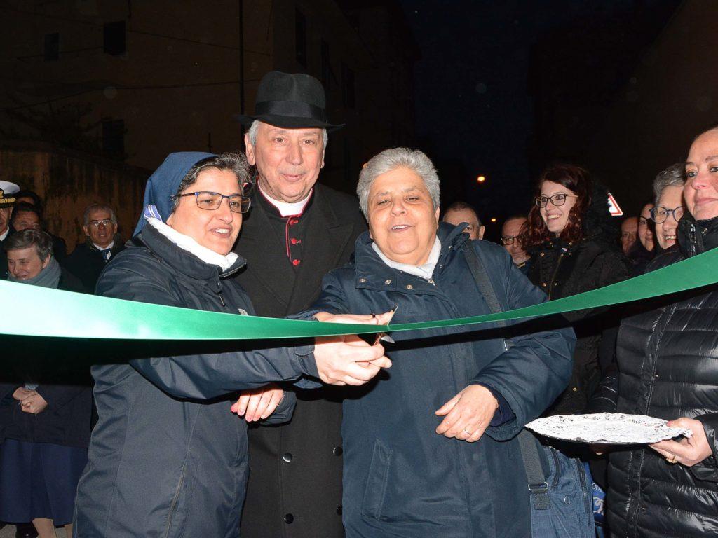 inaugurazione locali caritas  via maddalena foto Simone Lanari