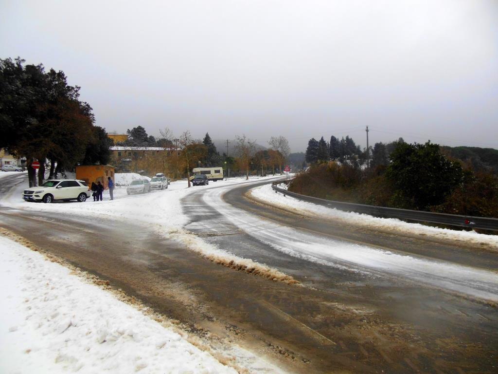 Neve alla Valle Benedetta