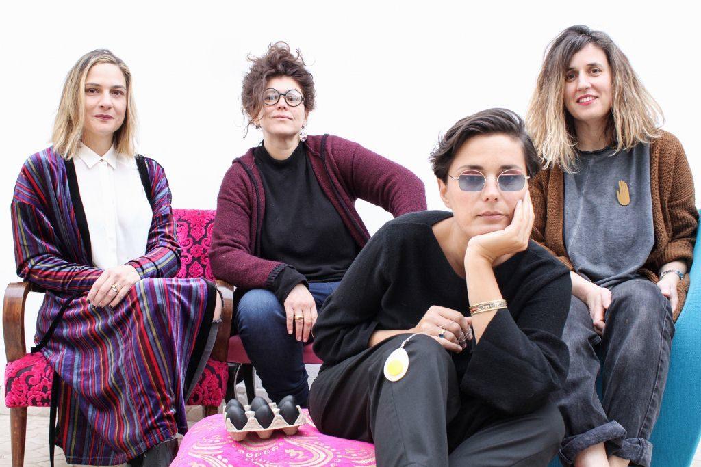 Da sinistra: Valeria Aretusi, Viola Barbara, Libera Capezzone, Giulia Bernini