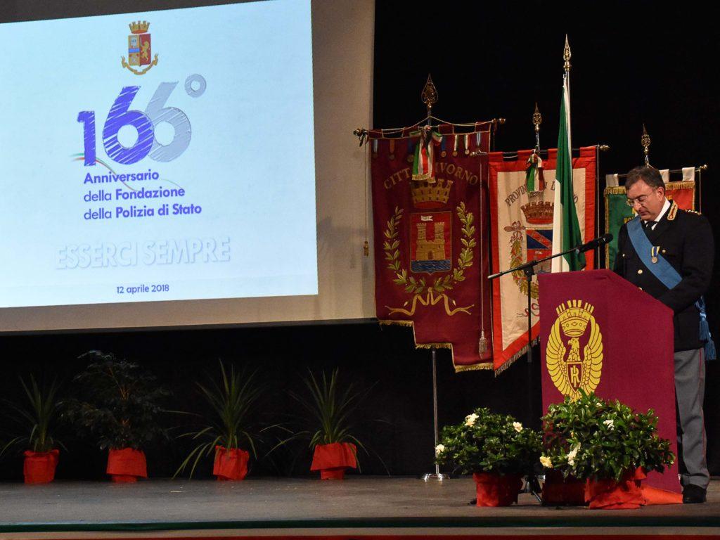 166° anniversario polizia foto Simone Lanari