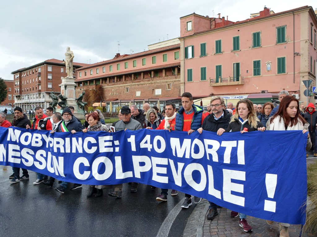 27° anniversario moby prince foto Simone Lanari