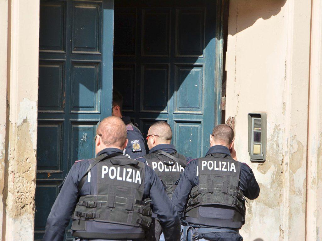 polizia palazzo del picchetto foto Simone Lanari
