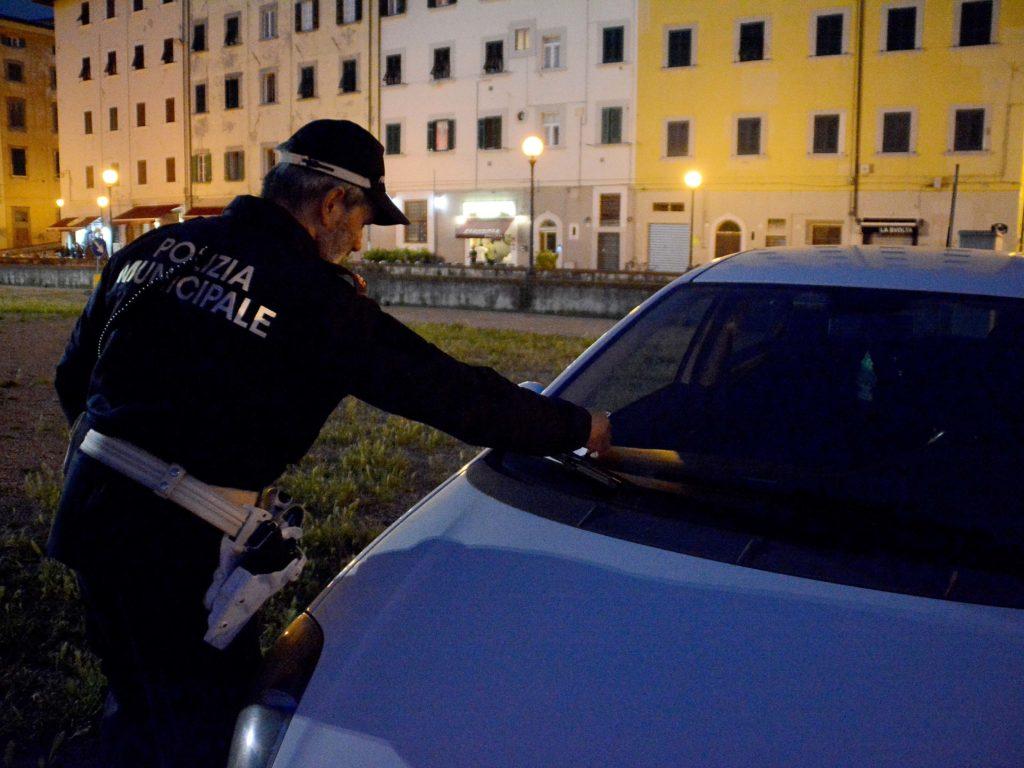 Polizia Municpale controlli ZTL Venezia e multe foto Simone Lanari
