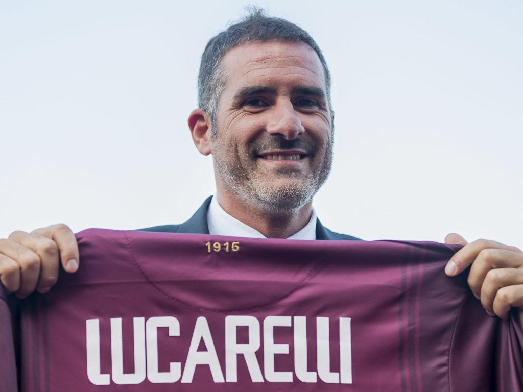 Presentazione Cristiano Lucarelli neo allenatore del Livorno Calcio Stadio Armando Picchi Serie B 2018/2019  Livorno Italia 09-07-2018 Photo Andrea Masini//Insidefoto