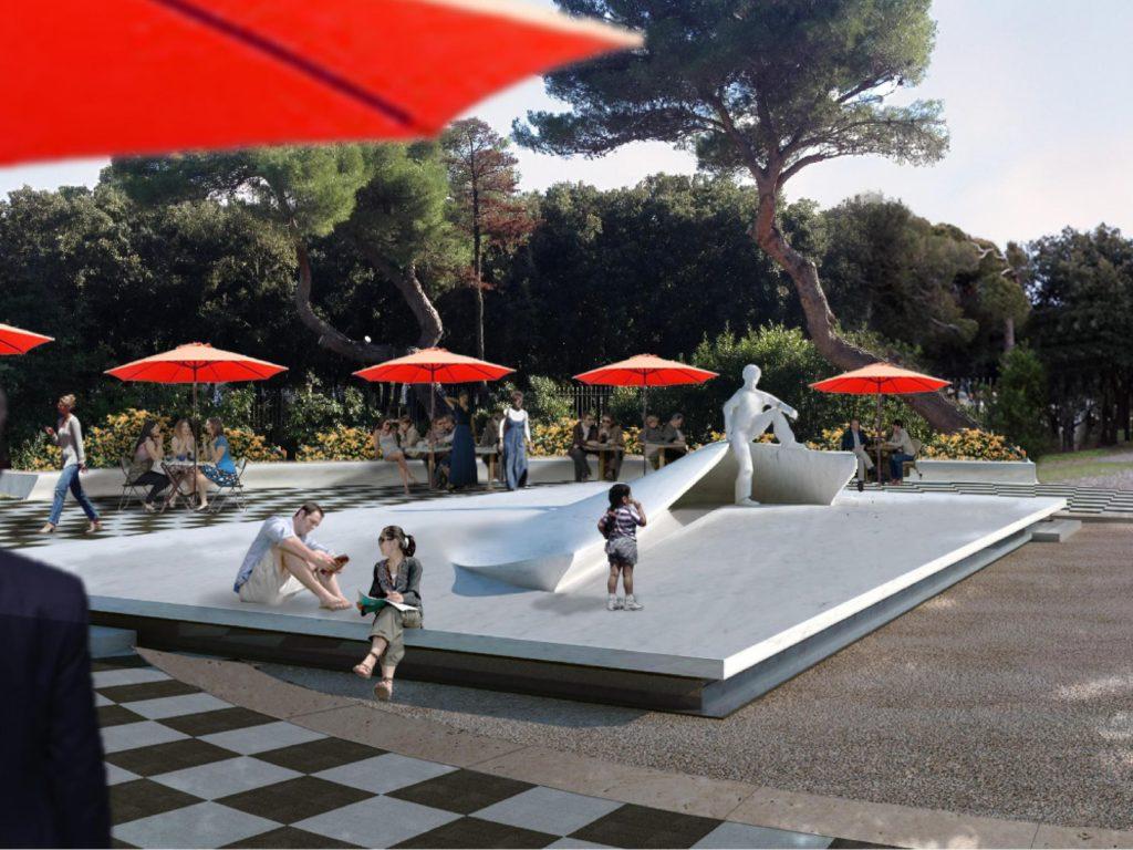 Fontana Modigliani