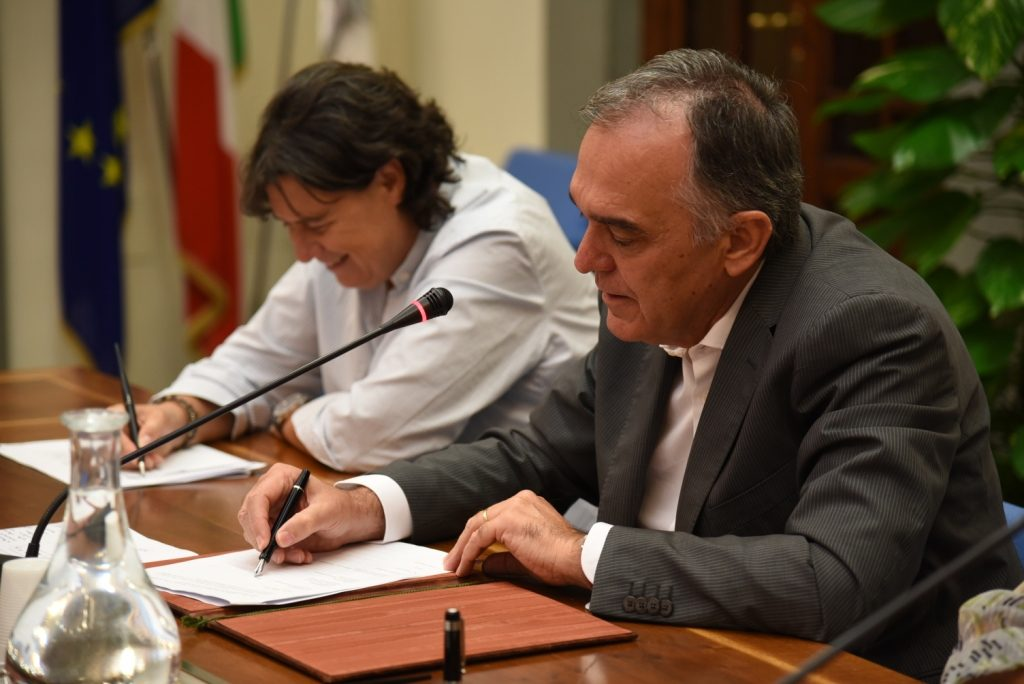 ENRICO ROSSI E STEFANIA SACCARDI