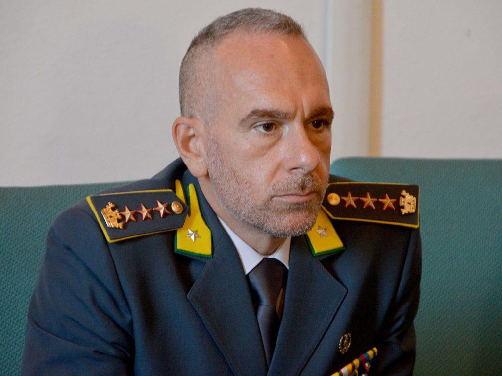 Colonnello Gaetano Cutarelli Comandante Guardia di Finanza Livorno foto Simone Lanari