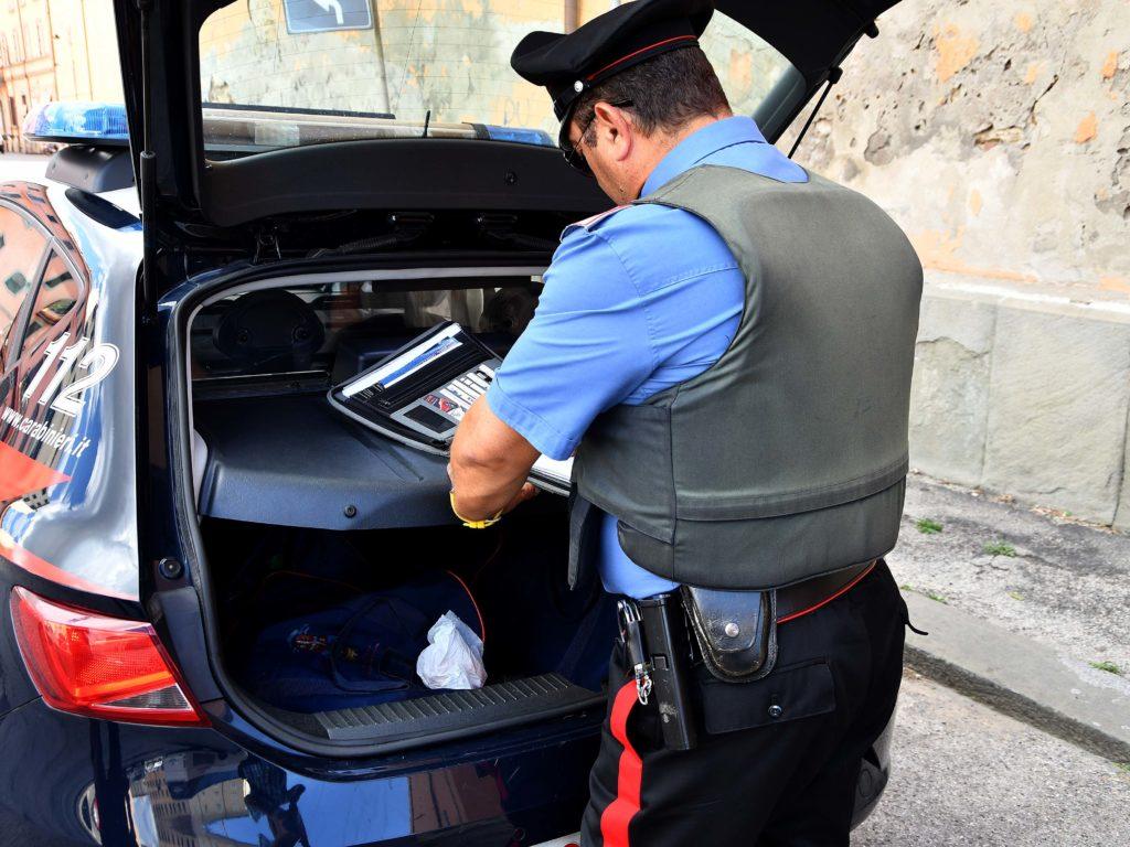 Carabinieri controlli 112 foto Simone Lanari