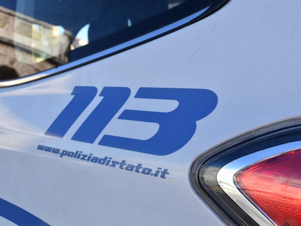 Polizia 113 controlli Barriera Margherita lungomare Foto Simone Lanari