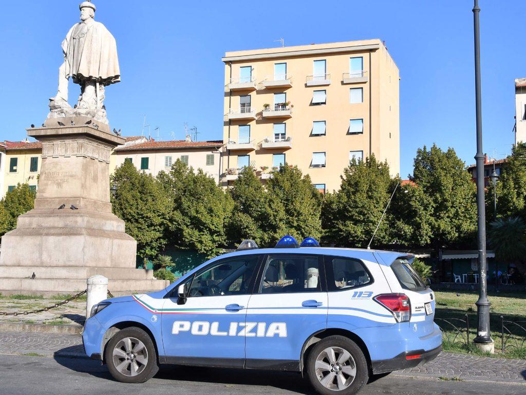 Polizia 113 controlli piazza Garibaldi