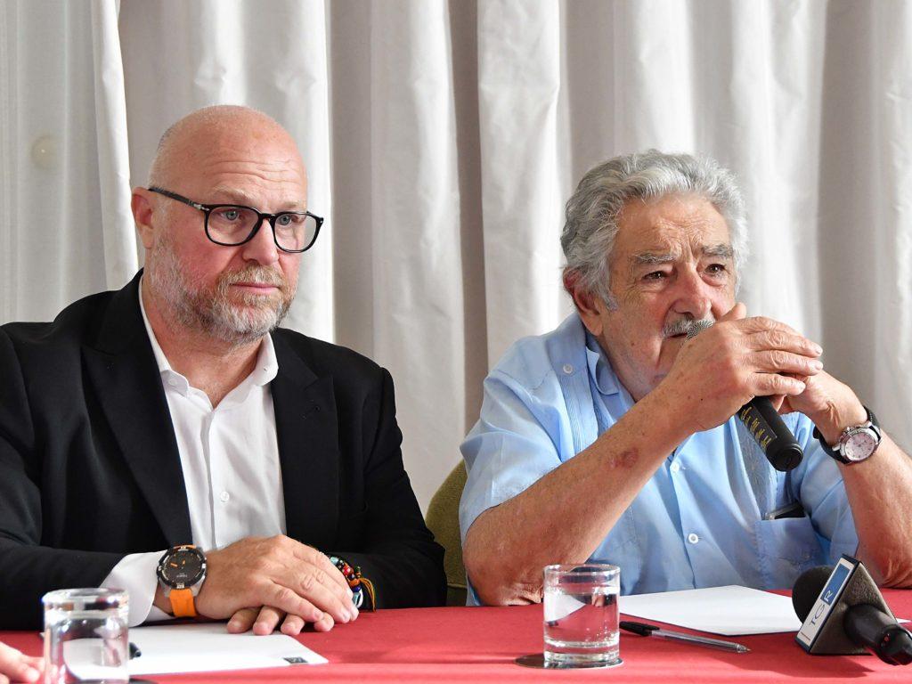 Nogarin e Mujica all'Hotel Palazzo foto Simone Lanari