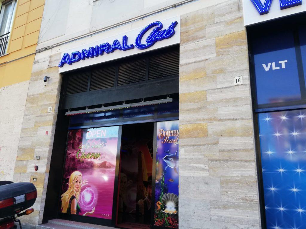 Admiral club via Avvalorati foto Simone Lanari