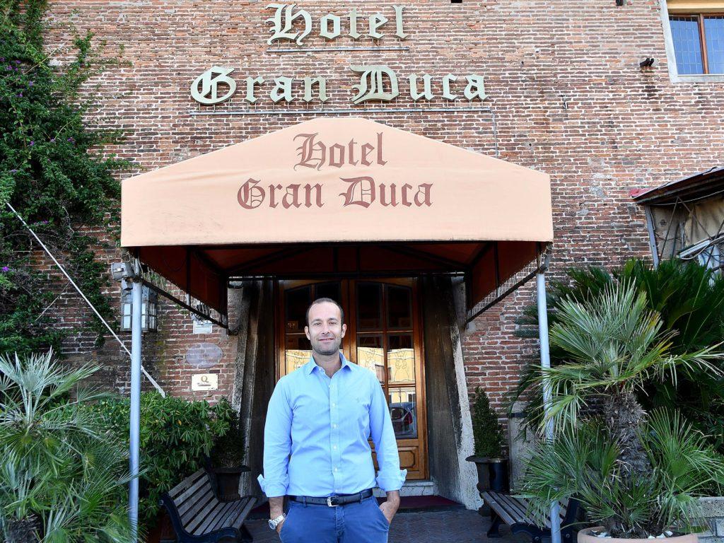 Gianni Vignoli Hotel Gran Duca foto Simone Lanari