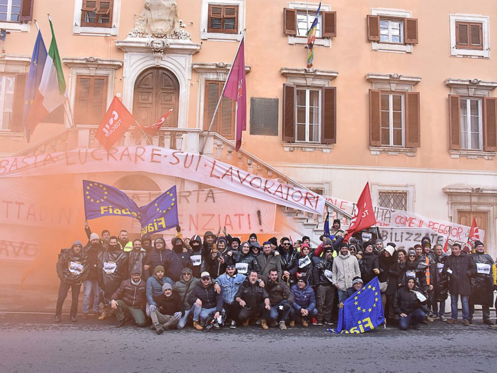 Protesta Aamps foto Simone Lanari