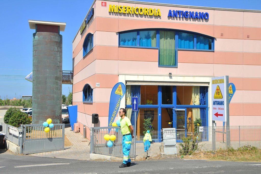 Inaugurazione sede Misericordia Antignano foto Simone Lanari